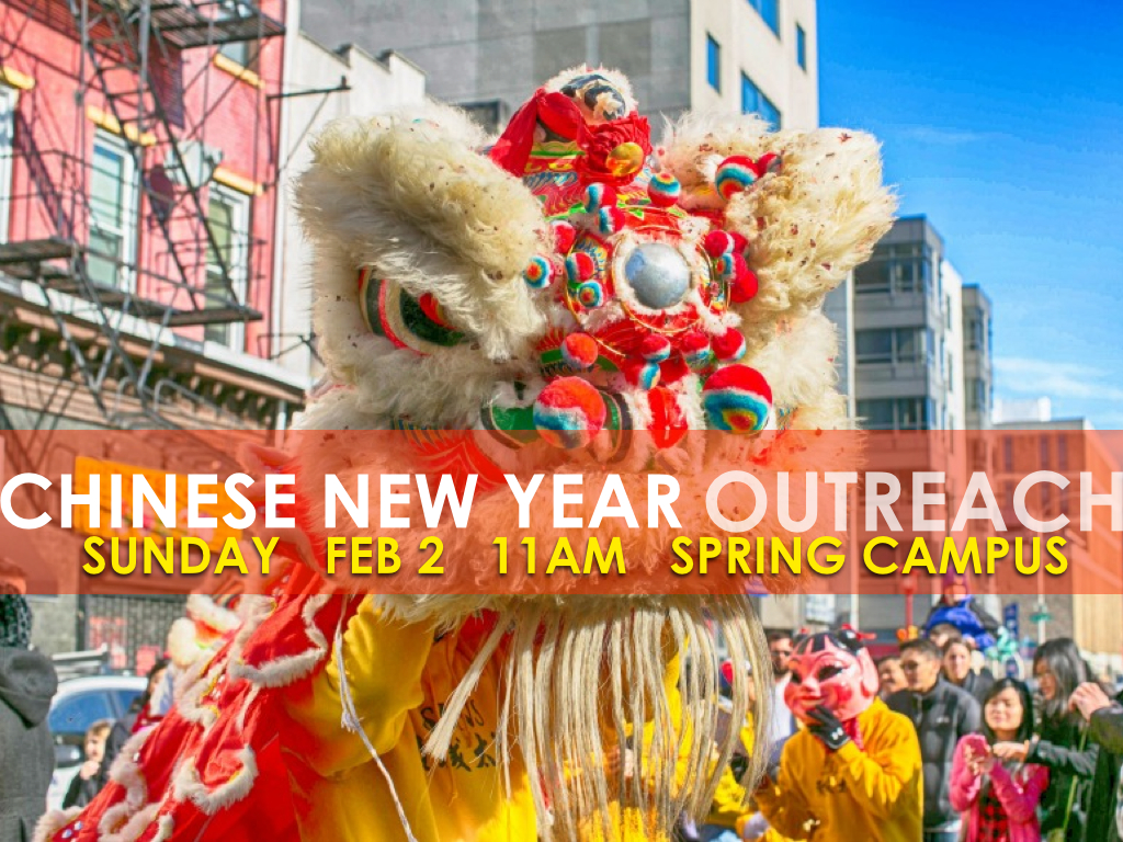 Chinese New Year Outreach